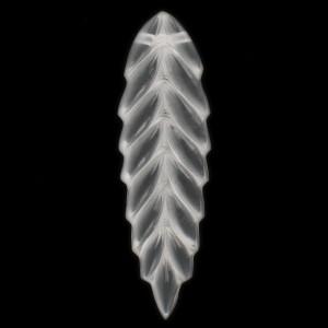Sheaf of wheat pendant, crystal 58 mm