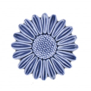 Blue flower 32 mm