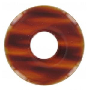 Disc, tortoise shell, 70 mm