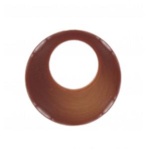 Disc, cornelian, 50 mm