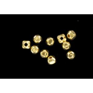 Gilded bead 5 mm
