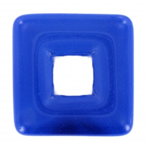 Square perforated, lapis, 25x25 mm