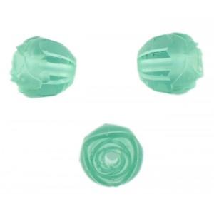 Rosebud cut bead, zircon 16 mm