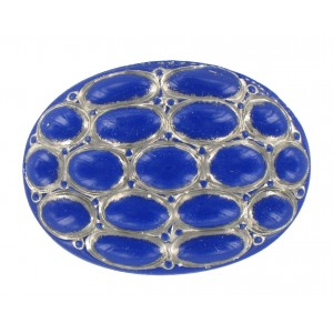 Oval lapis cabochon 40x30 mm
