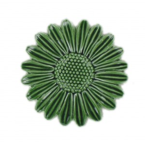 Green flower 32 mm