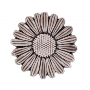 Brown flower 32 mm