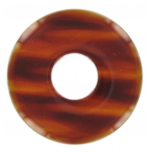 Disc, tortoise shell, 70 mm