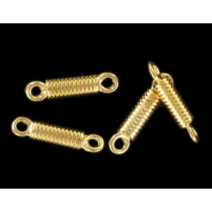 Gilded link 23x5 mm