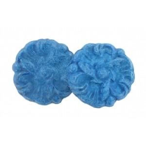 Flower, blue 30 mm
