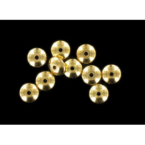 Gilded spacer 8 mm