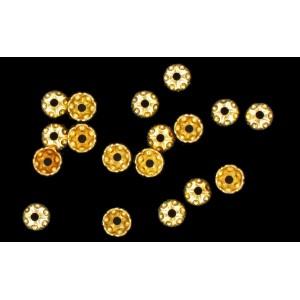 calotte dorée 4.5x3 mm