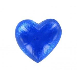 Heart cabochon sapphire 25 mm