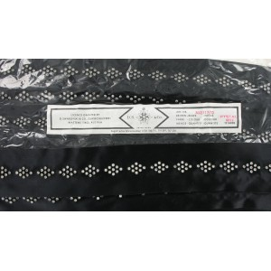 SWAROVSKI textile banding with PP 17 crystal stones 5 raws