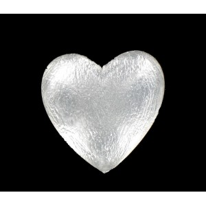 Heart cabochon crystal 25 mm